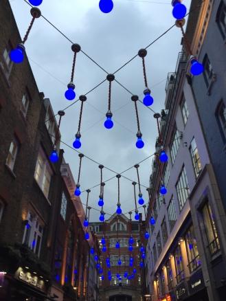 Lights in Barbican Street