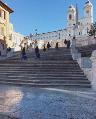 Spanish Steps in Piazza di Spagna